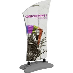 Contour Outdoor Sign Wave 1 - Water Base